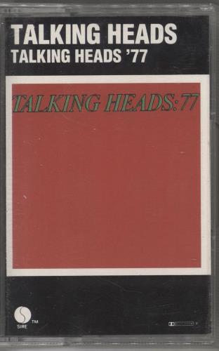 Talking Heads Talking Heads '77 cassette album German TALCLTA714054