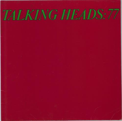 Talking Heads Talking Heads: 77 - EX vinyl LP album (LP record) German TALLPTA774296
