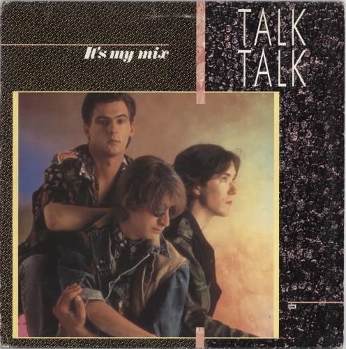 Talk Talk It S My Mix Ep Poster Italian 12 Quot Vinyl Single