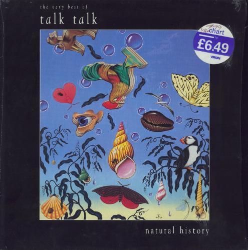 Talk Talk Natural History vinyl LP album (LP record) UK TTKLPNA488670