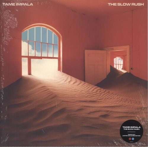 Tame Impala The Slow Rush - 180gm Red & Blue Vinyl - Sealed 2-LP vinyl record set (Double Album) UK X9V2LTH739469