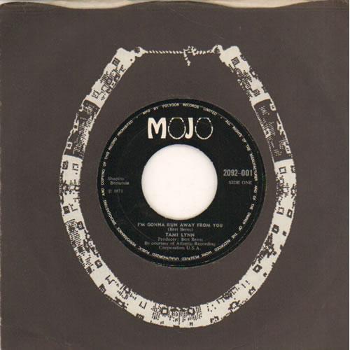 "Tami Lynn I'm Gonna Run Away From You - Wide 7"" vinyl single (7 inch record) UK LYT07IM641479"