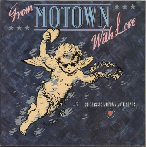 Tamla Motown From Motown With Love Uk 2 Lp Vinyl Record