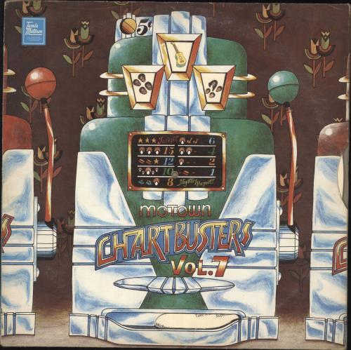 Tamla Motown Motown Chartbusters Vol 7 German Vinyl Lp