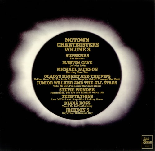 Tamla Motown Motown Chartbusters Volume 8 vinyl LP album (LP record) UK MTWLPMO454825