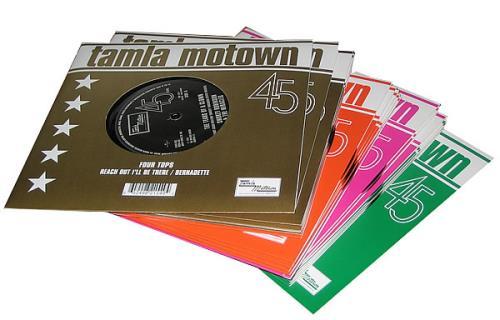 Tamla Motown Tamla Motown Singles Box Set Uk 7 Quot Vinyl