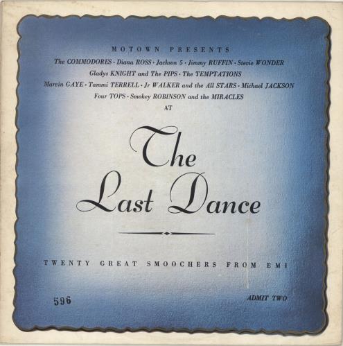 Tamla Motown The Last Dance Uk Vinyl Lp Album Lp Record