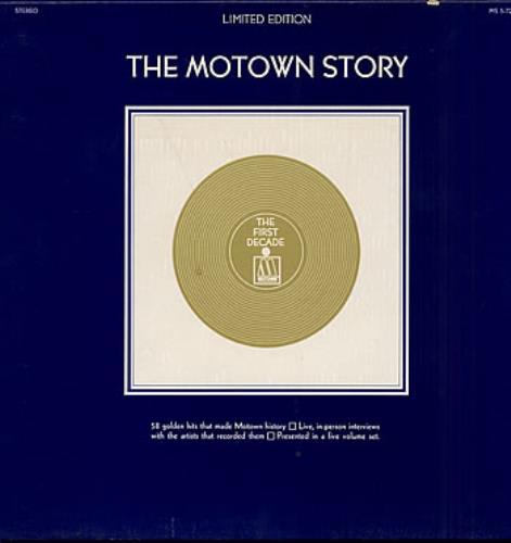 Tamla Motown The Motown Story Booklet Us Vinyl Box Set