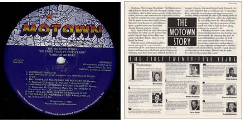 Tamla Motown The Motown Story The First Twenty Five