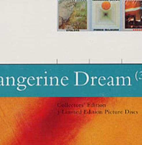 Tangerine Dream Collector's Edition UK 3-CD album set