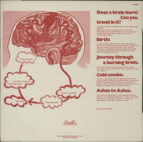 Tangerine Dream Electronic Meditation vinyl LP album (LP record) New Zealand TANLPEL318880