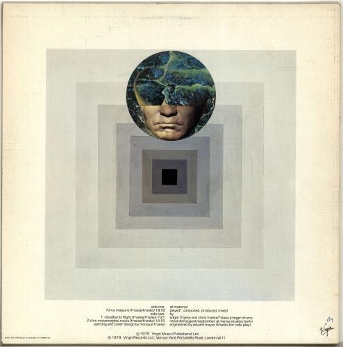 Tangerine Dream Force Majeure - Clear Vinyl vinyl LP album (LP record) UK TANLPFO35442