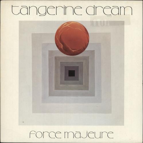 Tangerine Dream Force Majeure vinyl LP album (LP record) UK TANLPFO416767