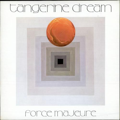 Tangerine Dream Force Majeure Uk Vinyl Lp Album Lp Record