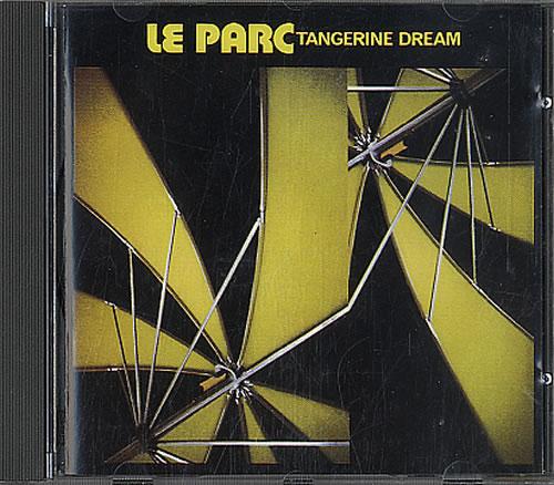 Tangerine Dream Le Parc CD album (CDLP) German TANCDLE05802