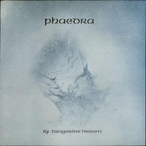 Tangerine Dream Phaedra - 1st vinyl LP album (LP record) UK TANLPPH532508