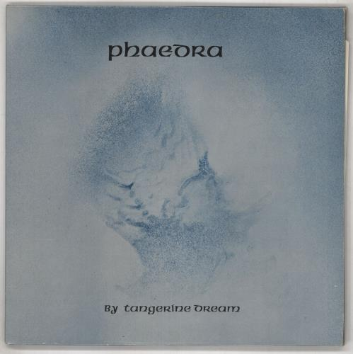 Tangerine Dream Phaedra - 2nd vinyl LP album (LP record) UK TANLPPH307931
