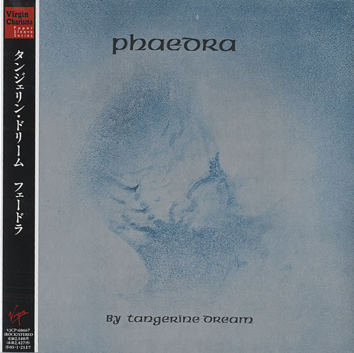 Tangerine Dream Phaedra - Virgin/Charisma Obi CD album (CDLP) Japanese TANCDPH434296
