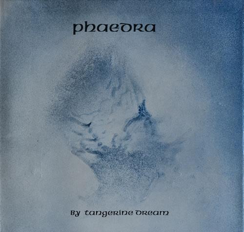 Tangerine Dream Phaedra vinyl LP album (LP record) UK TANLPPH550041