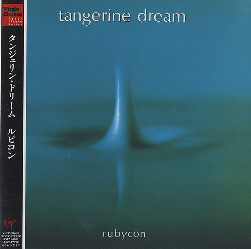 Tangerine Dream Rubycon - Virgin/Charisma Obi Japanese CD