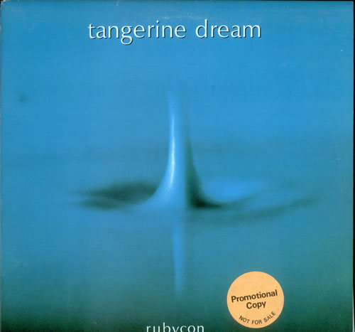 Tangerine Dream Rubycon US Promo vinyl LP album (LP record