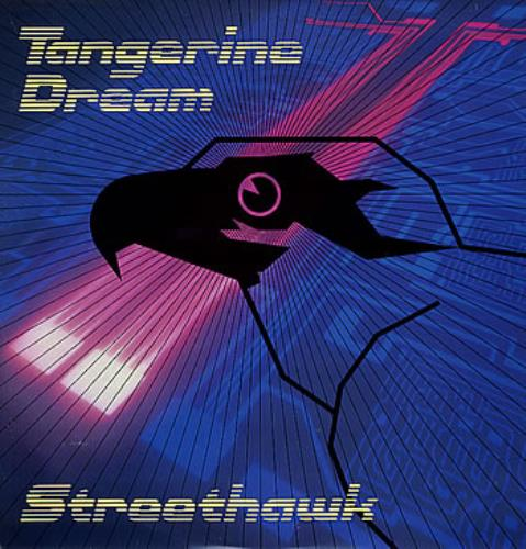 "Tangerine Dream Streethawk 12"" vinyl single (12 inch record / Maxi-single) UK TAN12ST79579"