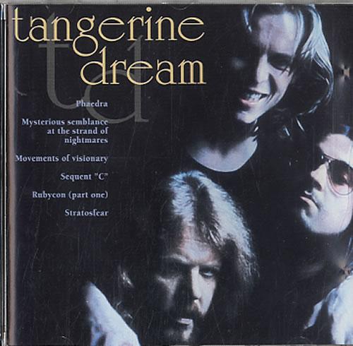 Tangerine Dream Tangerine Dream CD album (CDLP) Dutch TANCDTA617825