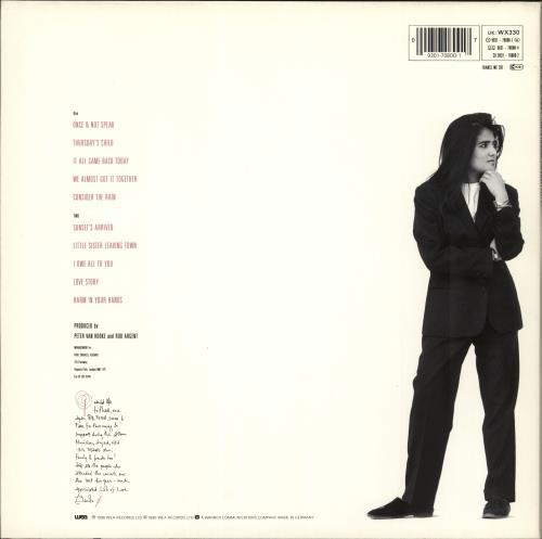 Tanita Tikaram The Sweet Keeper vinyl LP album (LP record) German TIKLPTH245152