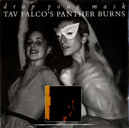 "Tav Falco Drop Your Mask 7"" vinyl single (7 inch record) French UFV07DR582429"