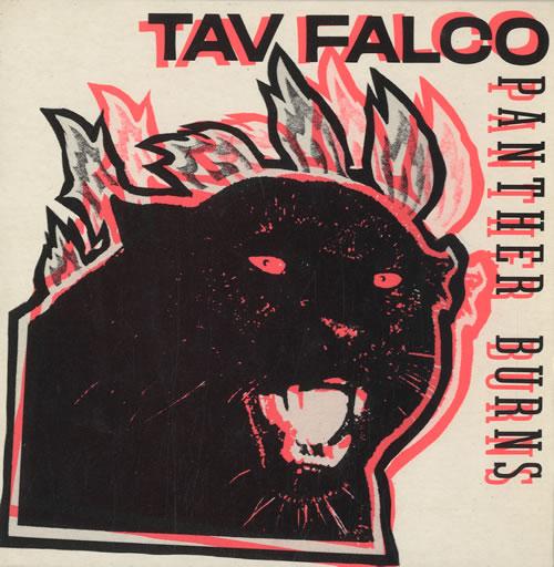 "Tav Falco Panther Burns 7"" vinyl single (7 inch record) French UFV07PA582302"
