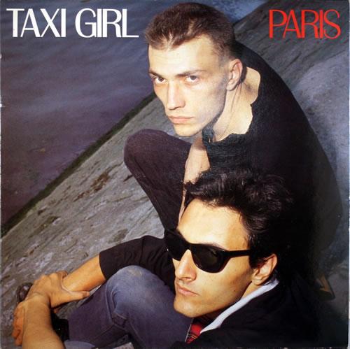 Taxi Girl Paris vinyl LP album (LP record) French UF8LPPA555449