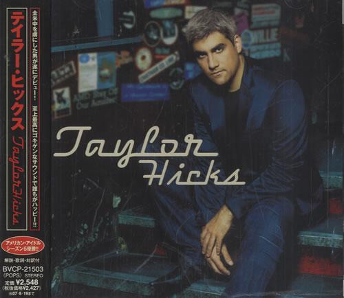 Taylor Hicks Taylor Hicks CD album (CDLP) Japanese HCSCDTA484397