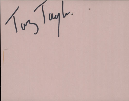 Taz Taylor Pages From An Autograph Book memorabilia UK WG9MMPA602089