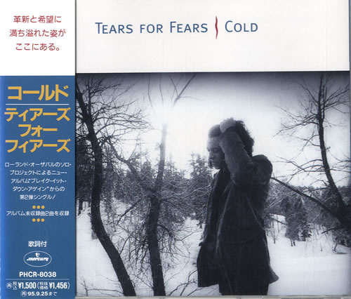 """Tears For Fears Cold CD single (CD5 / 5"""") Japanese TFFC5CO133260"""