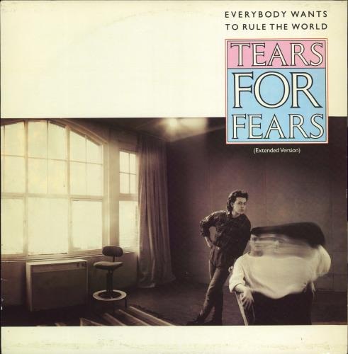 """Tears For Fears Everybody Wants To Rule The World 12"""" vinyl single (12 inch record / Maxi-single) UK TFF12EV16795"""