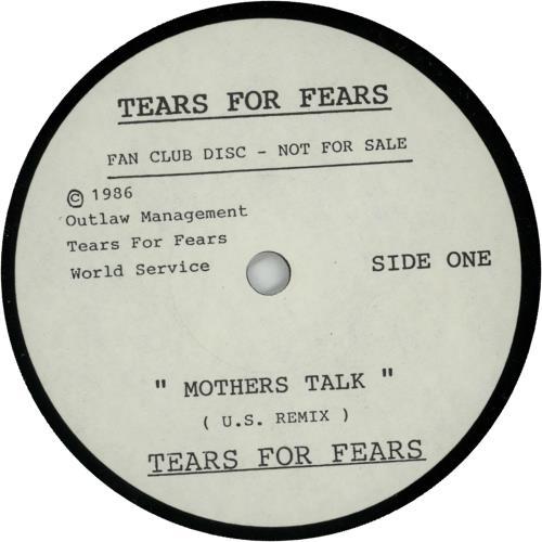 "Tears For Fears Mothers Talk - Fan Club Disc 7"" vinyl single (7 inch record) UK TFF07MO92119"