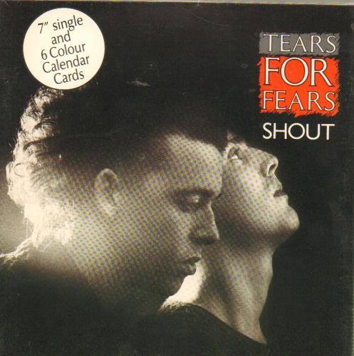 Tears For Fears Shout Calendar Pack Uk 7 Vinyl Single 7 Inch