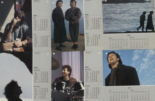 """Tears For Fears Shout Calendar Pack 7"""" vinyl single (7 inch record) UK TFF07SH39152"""