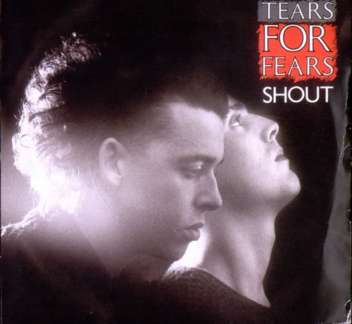 "Tears For Fears Shout 7"" vinyl single (7 inch record) UK TFF07SH294529"