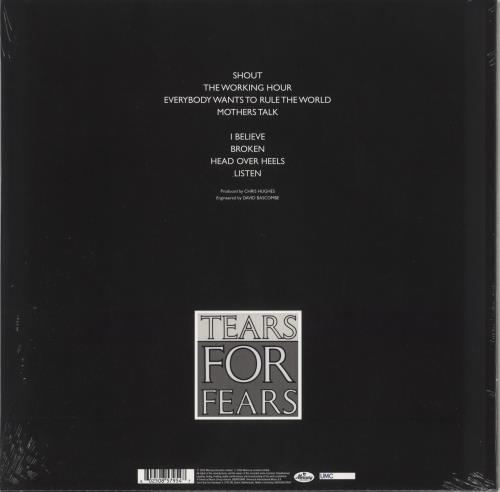 Tears For Fears Songs From The Big Chair - Sealed picture disc LP (vinyl picture disc album) UK TFFPDSO741378