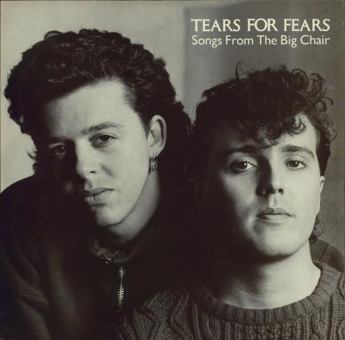 Tears For Fears Songs From The Big Chair vinyl LP album (LP record) UK TFFLPSO290898