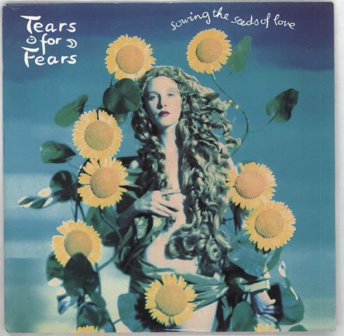 "Tears For Fears Sowing The Seeds Of Love - Inj 7"" vinyl single (7 inch record) UK TFF07SO710562"