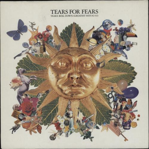 Tears For Fears Tears Roll Down (Greatest Hits 82-92) - EX vinyl LP album (LP record) UK TFFLPTE725208