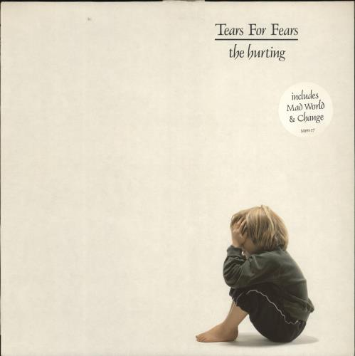 Tears For Fears The Hurting - 2nd + 2 Song Sticker - EX vinyl LP album (LP record) UK TFFLPTH767162