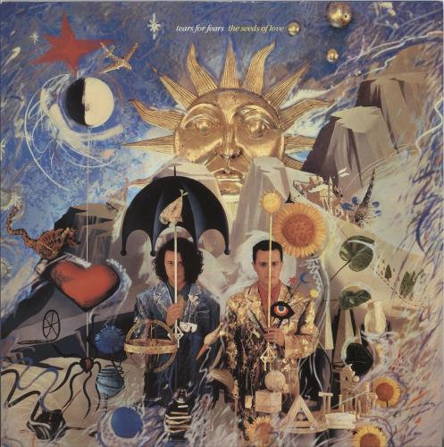 Tears For Fears The Seeds Of Love - EX vinyl LP album (LP record) UK TFFLPTH725512