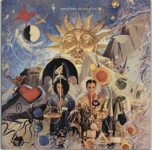 Tears For Fears The Seeds Of Love vinyl LP album (LP record) UK TFFLPTH586072