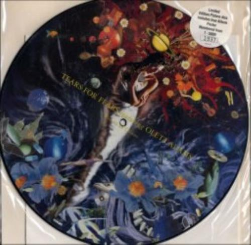"""Tears For Fears Woman In Chains + Poster 12"""" vinyl picture disc 12inch picture disc record UK TFF2PWO28893"""