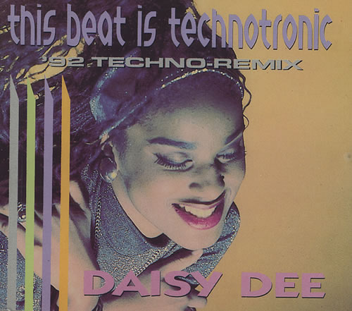 Technotronic This Beat Is Technotronic German CD single (CD5