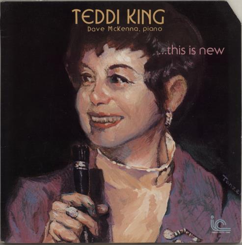 Teddi King . . . This Is New vinyl LP album (LP record) US UFDLPTH756713
