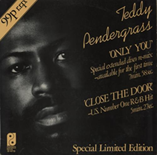 """Teddy Pendergrass Only You 12"""" vinyl single (12 inch record / Maxi-single) UK PNG12ON587926"""